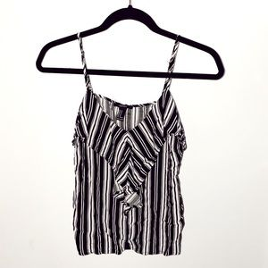 FOREVER 21 STRIPED TANK